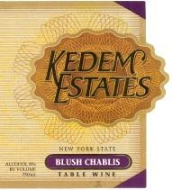Kedem Estates Blush Chablis 750ml - Case...